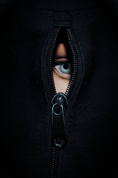 Zipper Eye stock photo