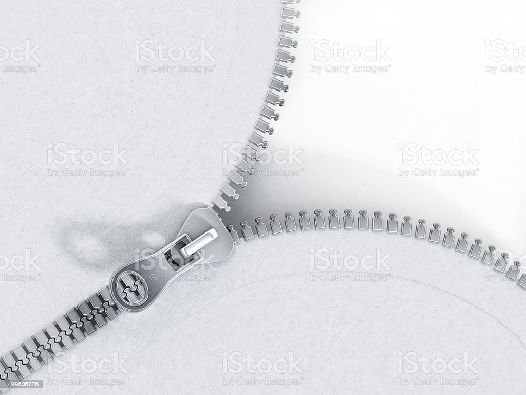 Zipper stock photo