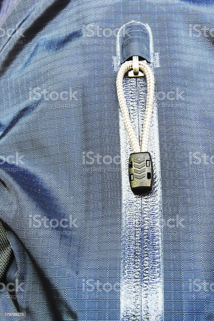 Zipper Pocket Jacket Fashion stock photo