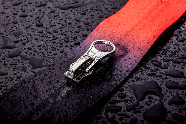 zipper waterproof zipper  waterproof waterproof clothing stock pictures, royalty-free photos & images