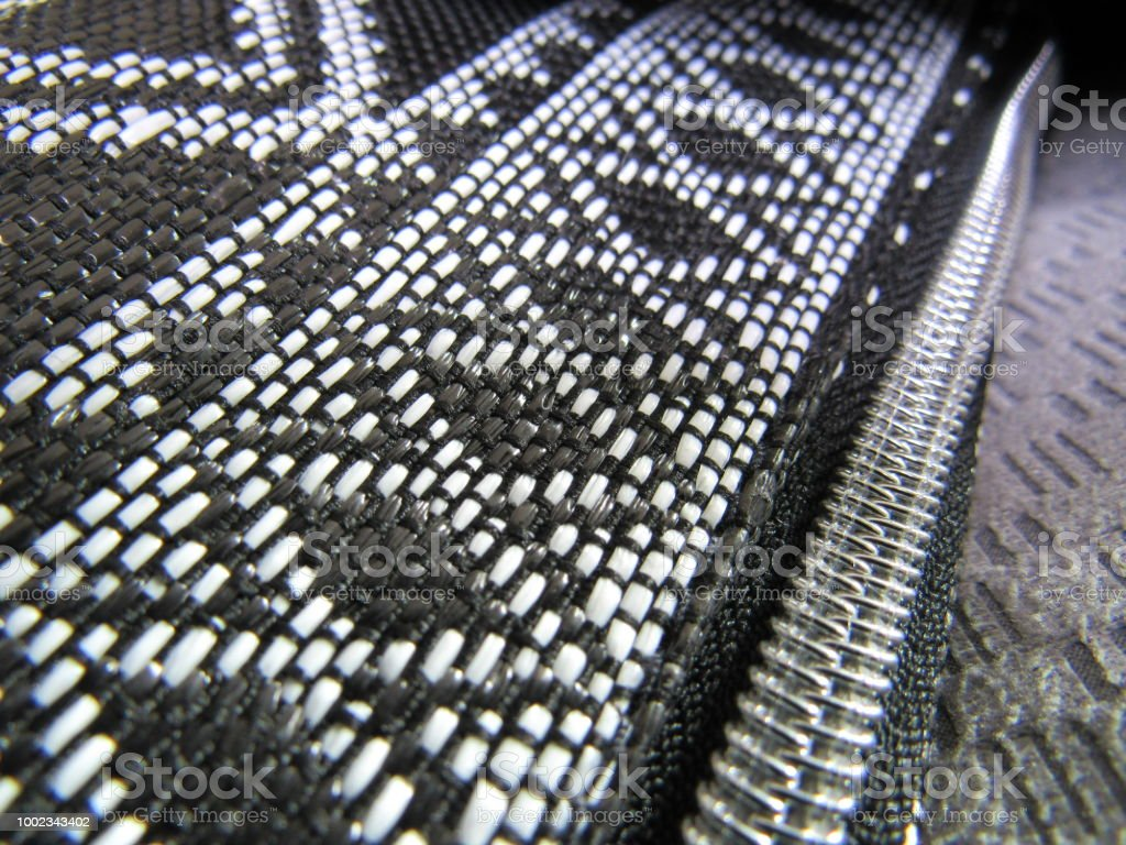 Zippered Bag stock photo