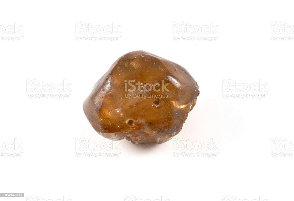 Zircon - gem stone. guaranteed authentic stock photo