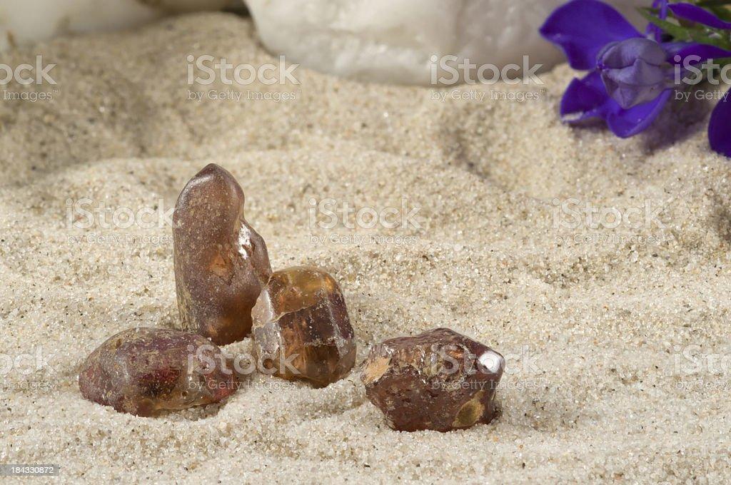 Zirconia - gem stone. guaranteed authentic stock photo