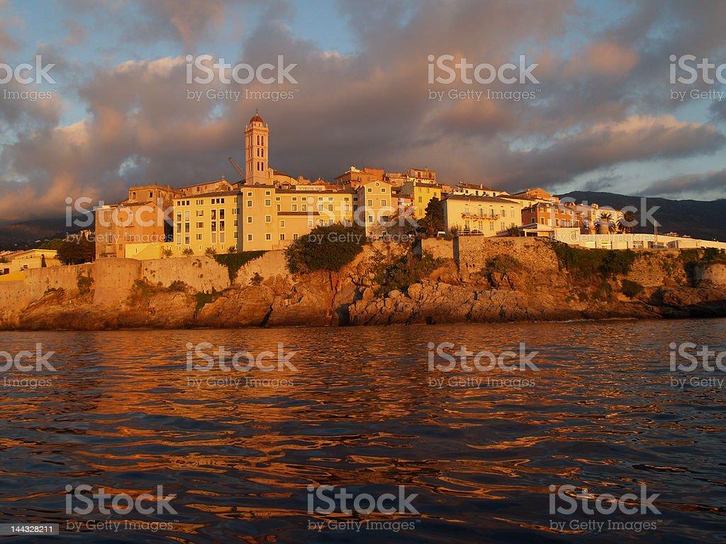 Zitadelle Bastia Korsika stock photo