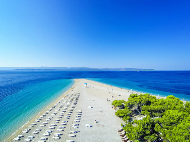 Zlatni rat Strand, Insel Brac, Bol Dalmatien, Kroatien – Foto