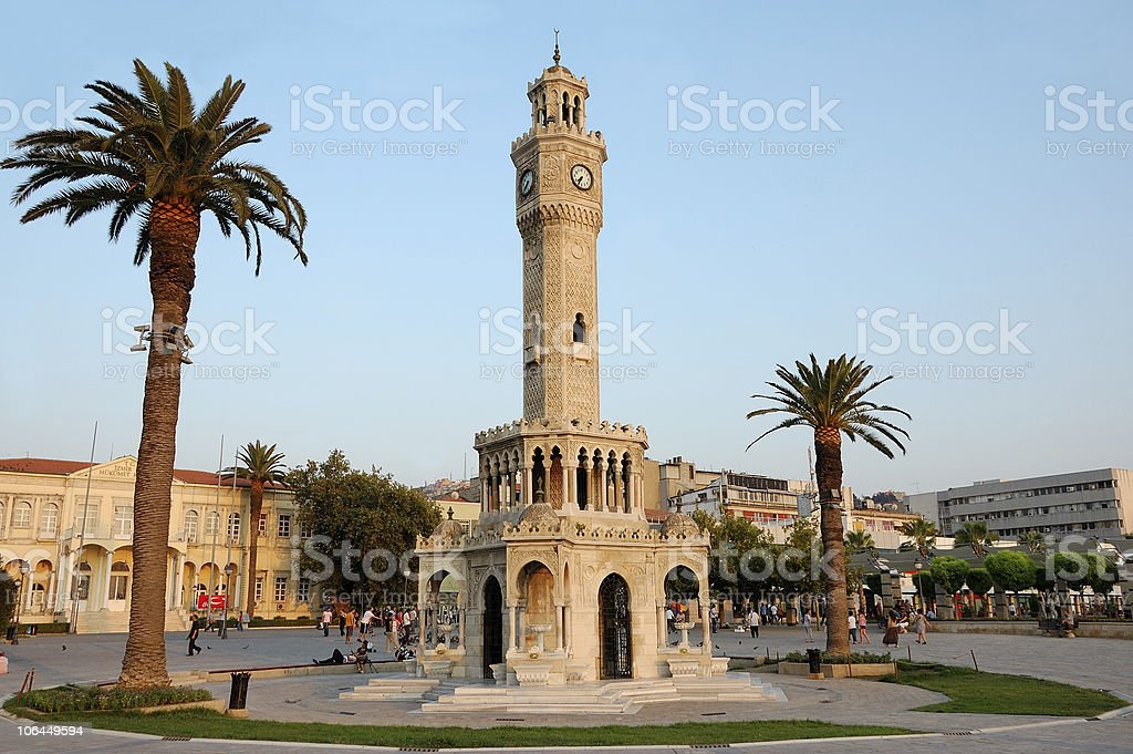 İzmir Konak Square stock photo