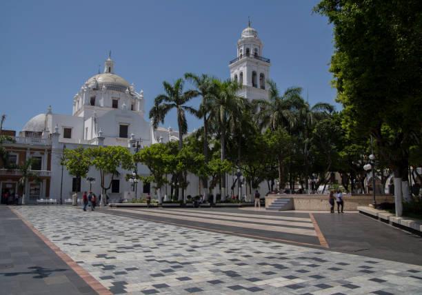 Zocalo of Veracruz Mexico Mexico veracruz stock pictures, royalty-free photos & images