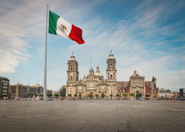 Zocalo Square und Mexico City Cathedral-Mexiko-Stadt, Mexiko – Foto