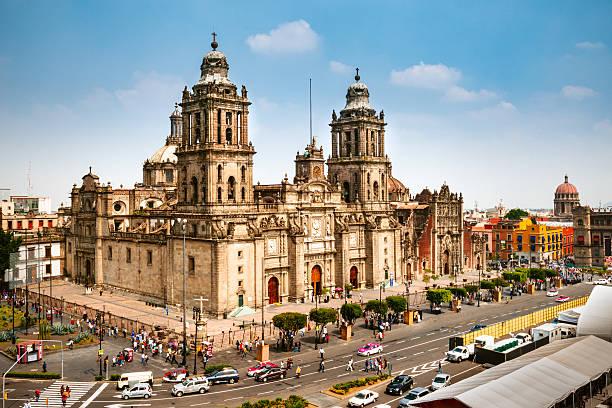 Zocalo-Platz in Mexiko-Stadt – Foto