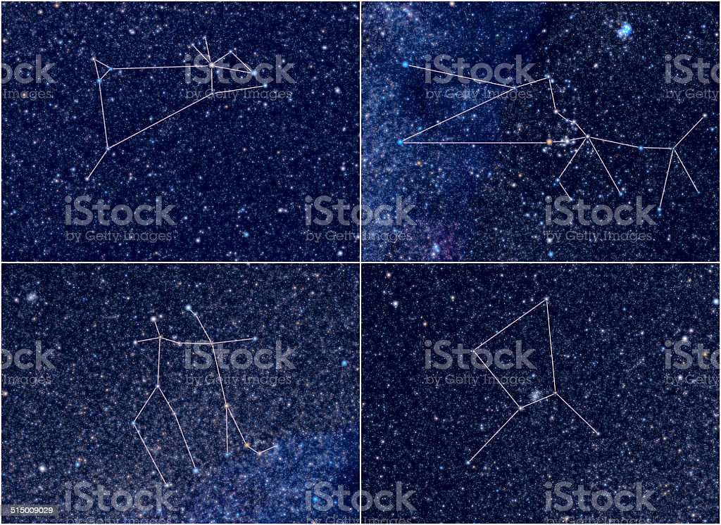 du zodiaque taureau gemini le cancer constellations signe du b lier photos et plus d 39 images de. Black Bedroom Furniture Sets. Home Design Ideas
