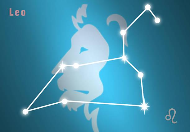 Zodiac Leo stok fotoğrafı