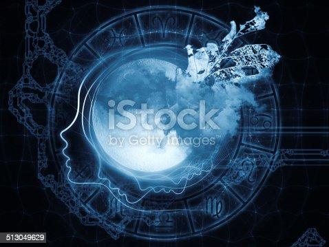 istock Zodiac of the Moon 513049629