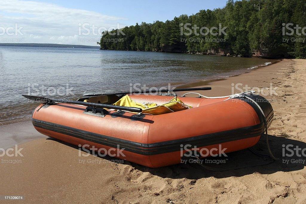 Zodiac Raft royalty-free stock photo