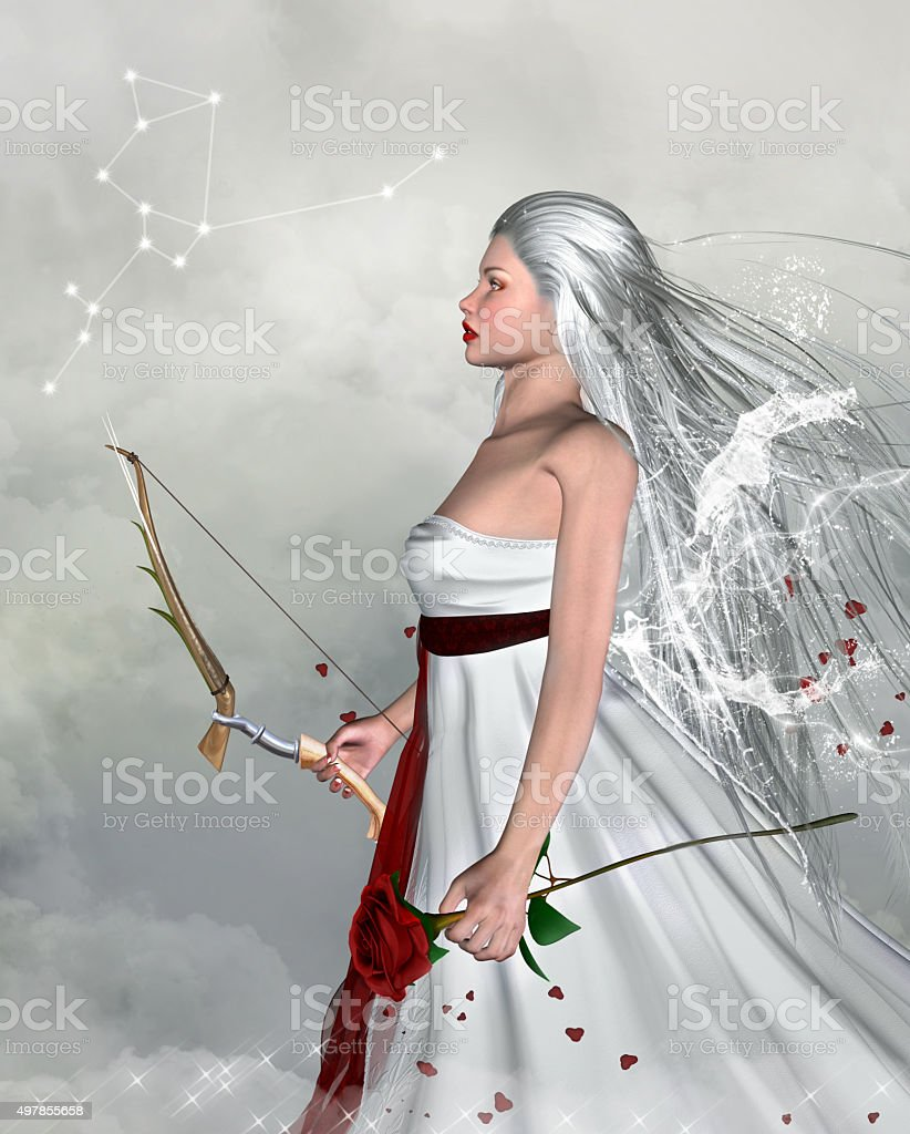 Zodiac series - Sagittarius stock photo