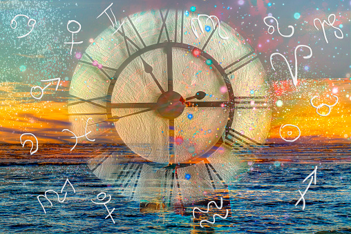 istock Zodiac signs and time 1015872674
