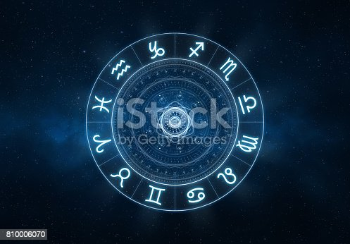 istock Zodiac Signs background 810006070