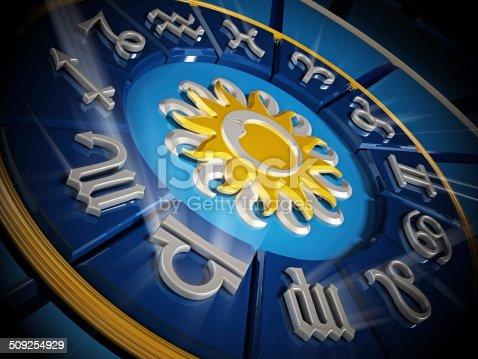istock Zodiac wheel 509254929