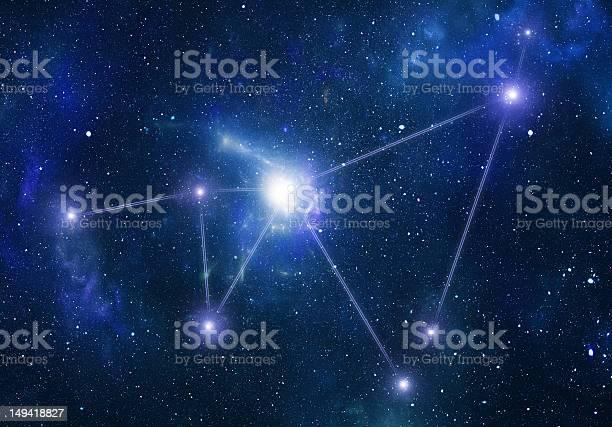 Photo of Zodiacal constellations. Capricornus