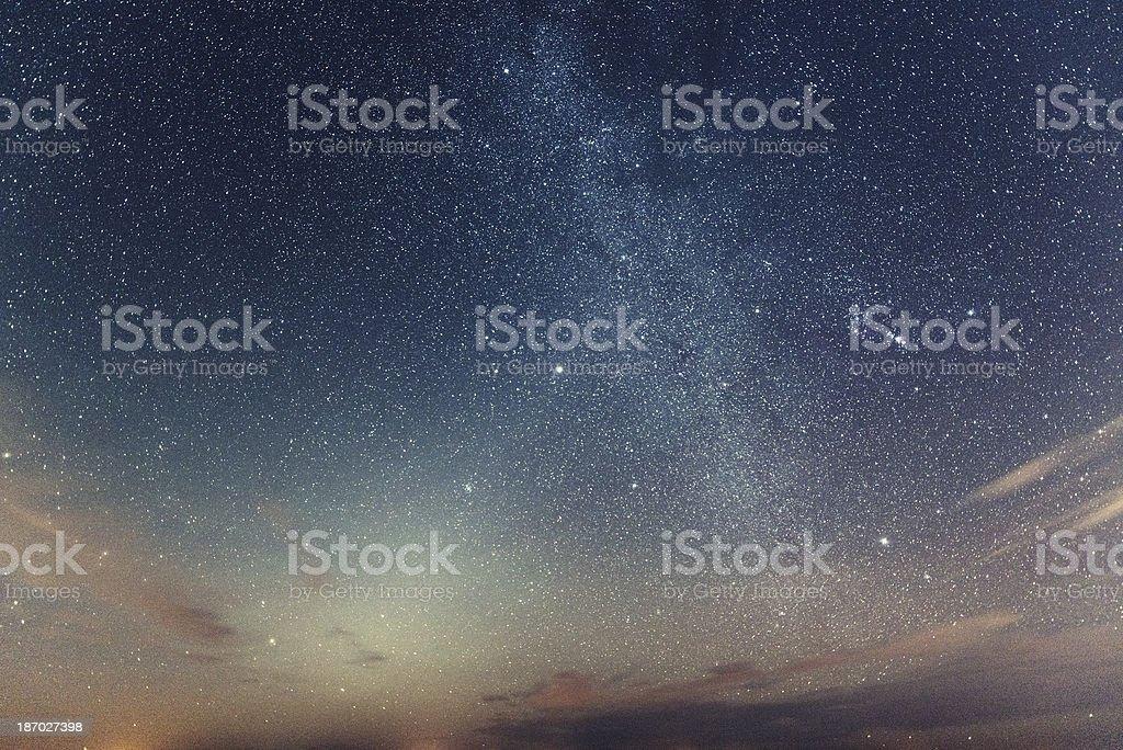 Zodiacal Light stock photo