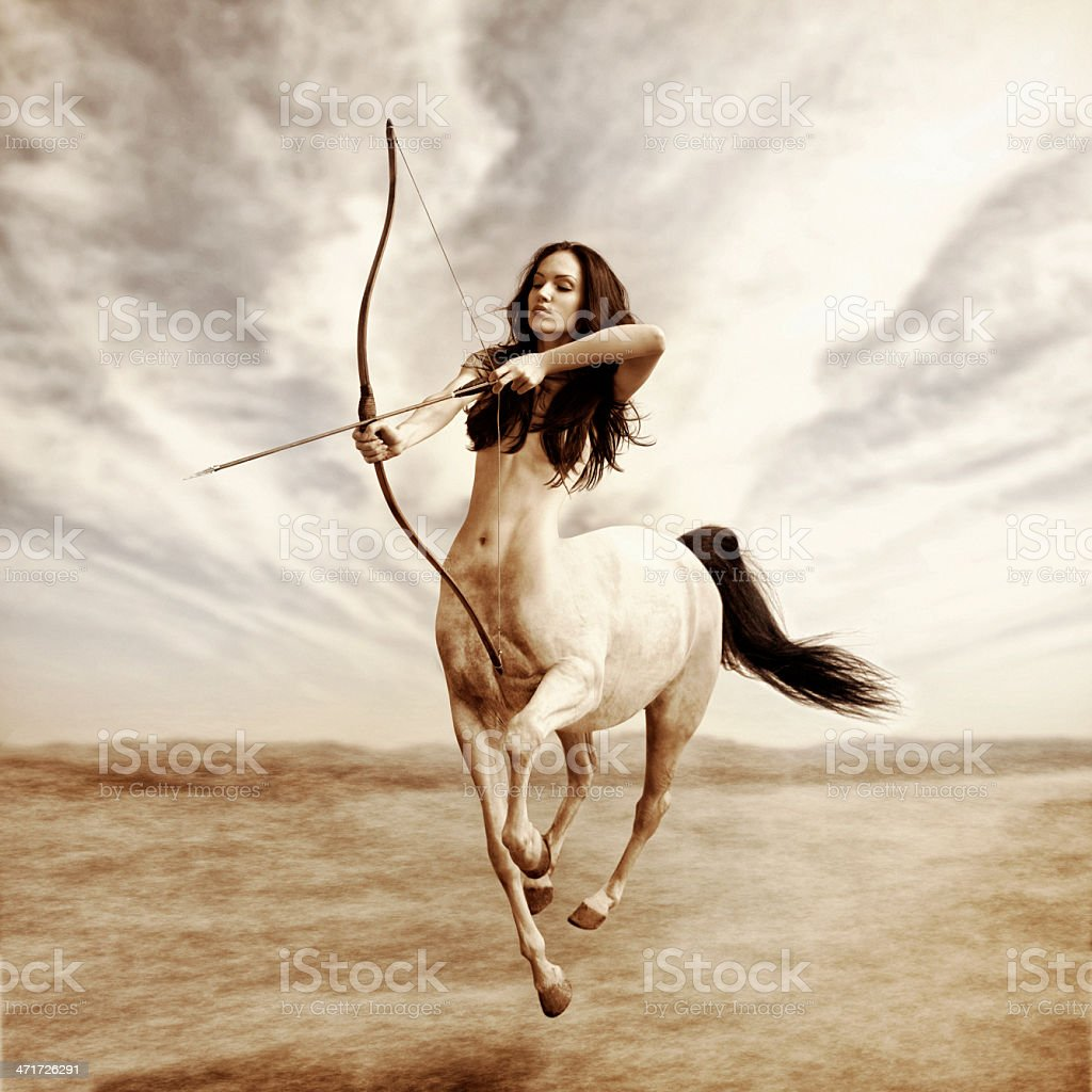 ZODIAC:Sagittarius stock photo