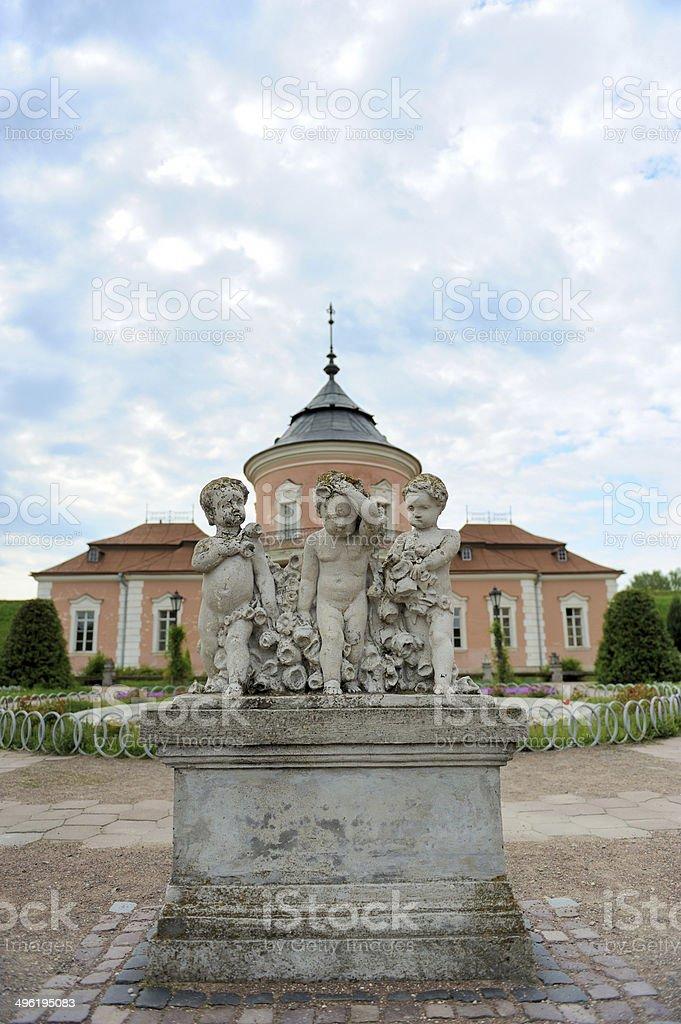 Zolochiv castle royalty-free stock photo