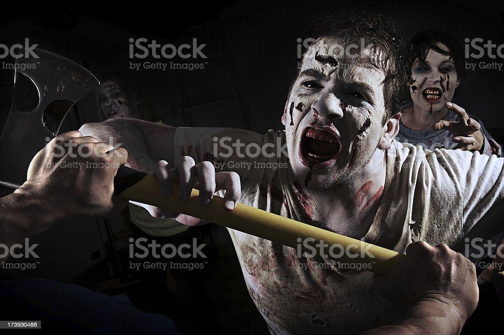 Zombie Attack! royalty-free stock photo