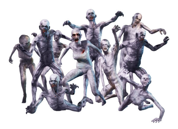 royalty free zombie horde pictures images and stock photos istock
