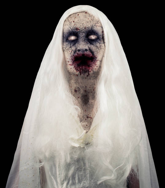 Zombie Ghost Isolated stock photo