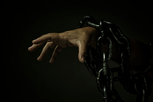 Reaching Zombie Hand