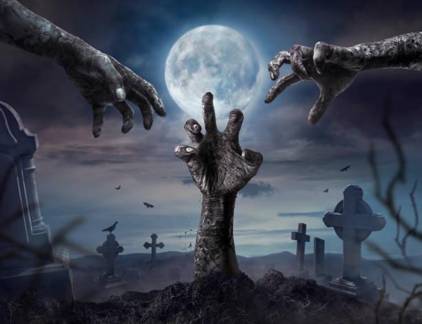 Zombie hands rising in dark halloween night picture id859529866?b=1&k=6&m=859529866&s=612x612&w=0&h=ywlbln8yuzehf xsrfu9vrna8tlkh9h4aklwfi93hh8=