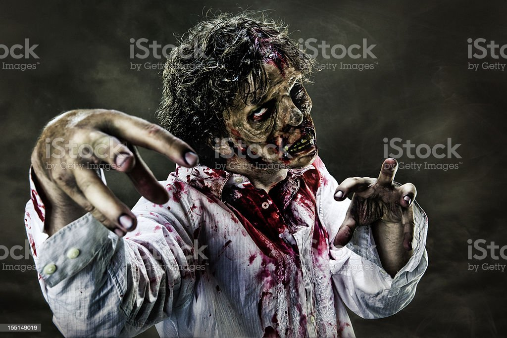 Zombie Horror stock photo
