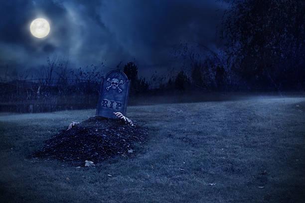 zombie wachsender von cecil rhodes - waldfriedhof stock-fotos und bilder