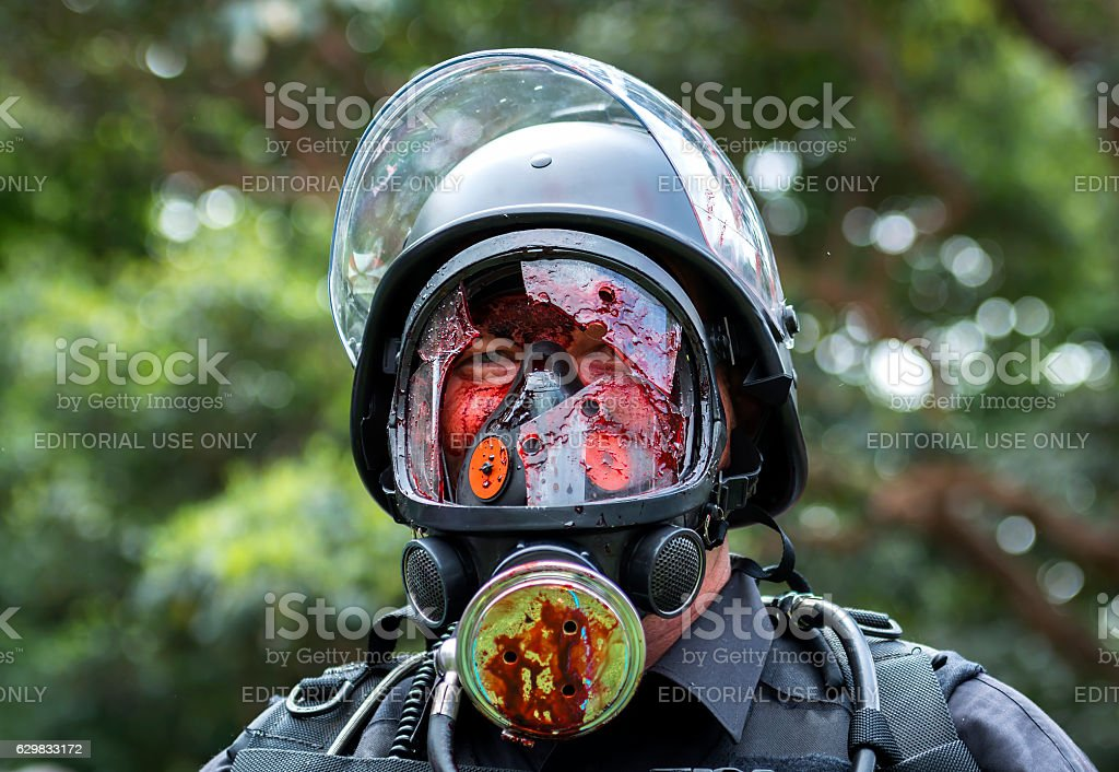 Zombie Walk In Sydney stock photo