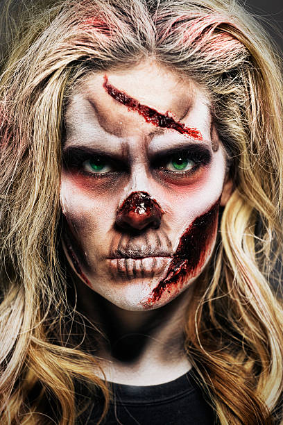 Zombie Woman stock photo