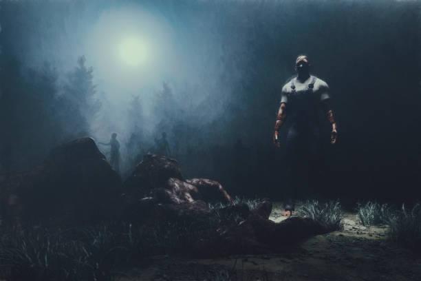 Zombies in the forest at night picture id1141760370?b=1&k=6&m=1141760370&s=612x612&w=0&h=je wwy4 4u8a8hetia ouutzobmurlglk2kgud1kbqw=