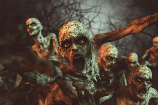 zombies - zombie apocalypse stock photos and pictures