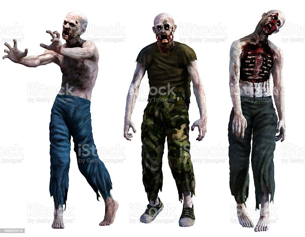 Zombies stock photo