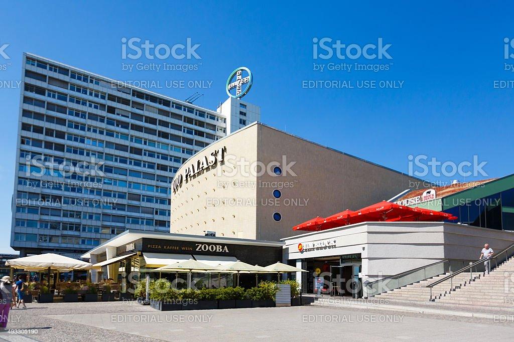 Zoo Palast in Berlin stock photo