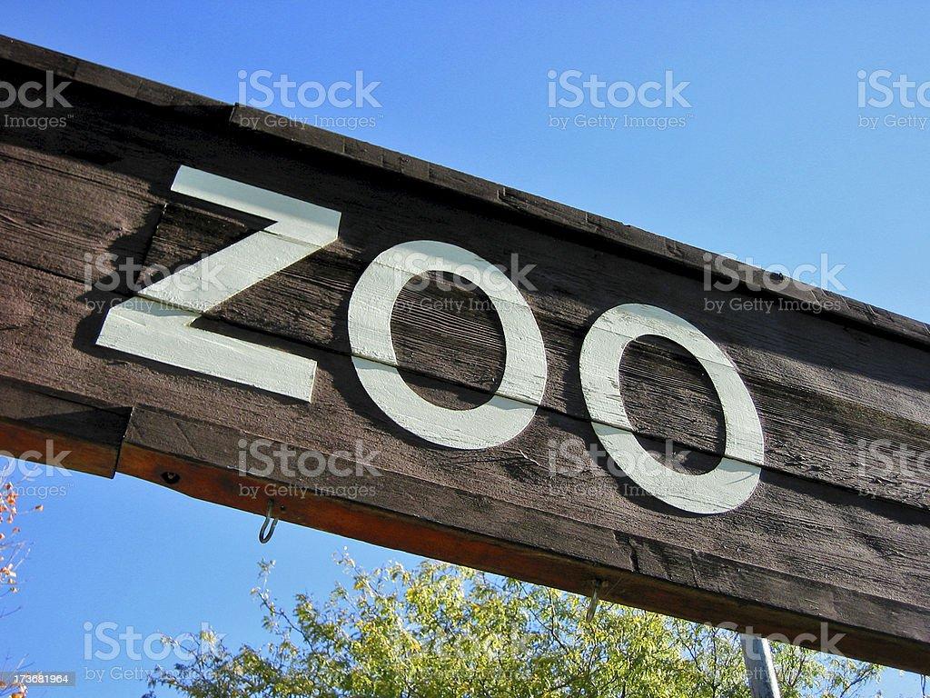 Zoológico - foto de stock