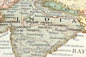 istock A zoom in on a map of India and its states 171136097