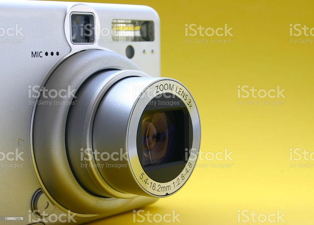 Lente de zoom 3x - foto de stock