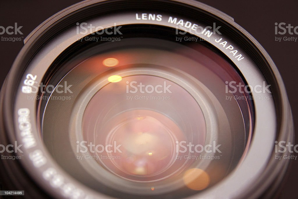 zoom lens royalty-free stock photo