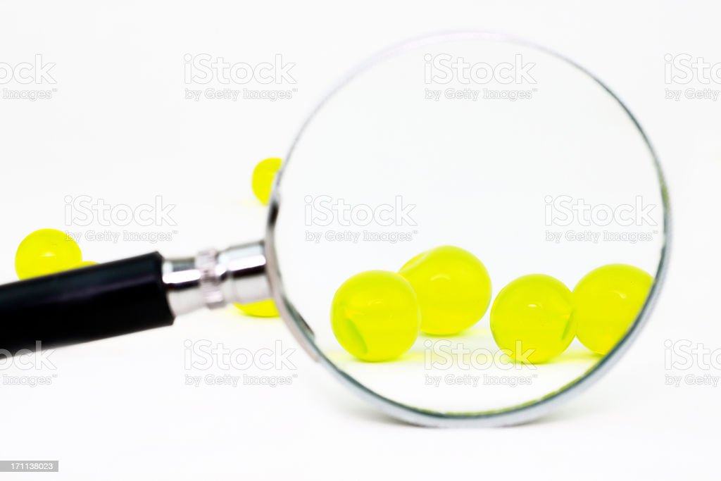 Zoom to the beads royalty-free stock photo