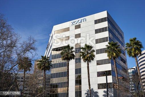 istock Zoom Video Communications Headquarters Building 1220712550