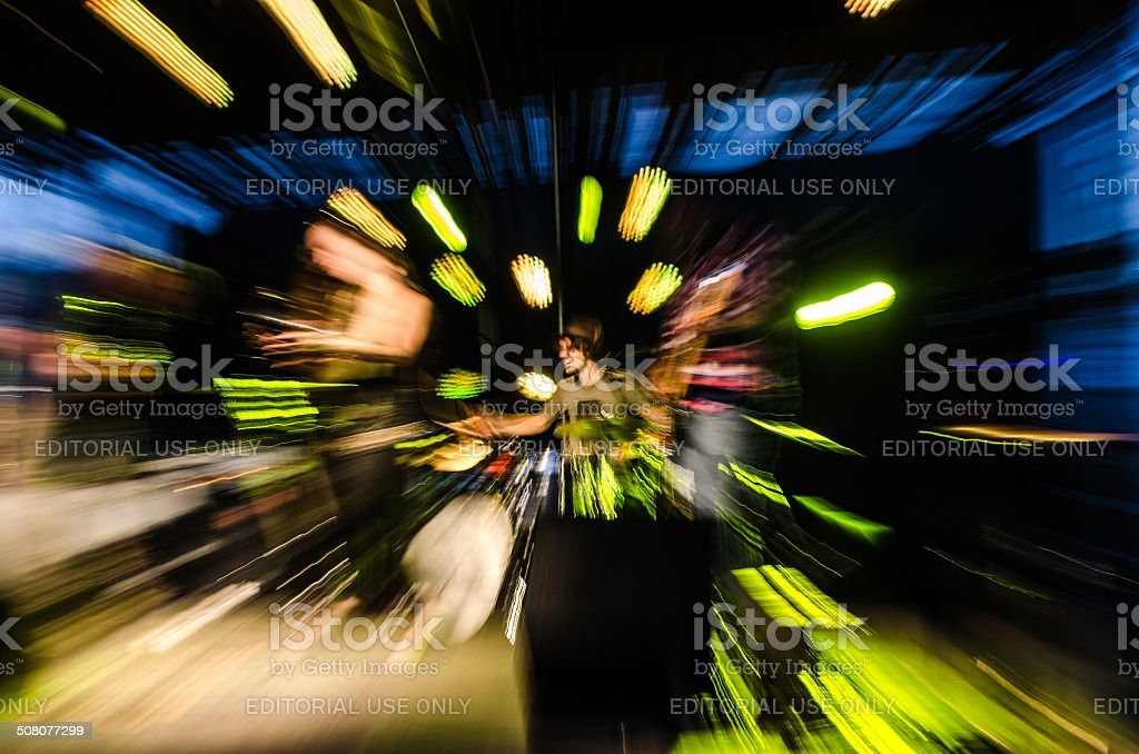 Zooming out stock photo