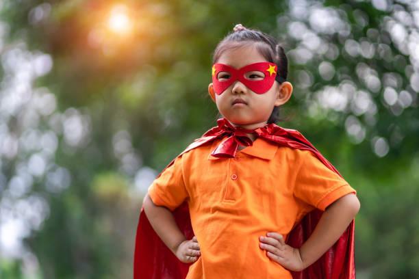 zorro flicka - superwoman barn bildbanksfoton och bilder