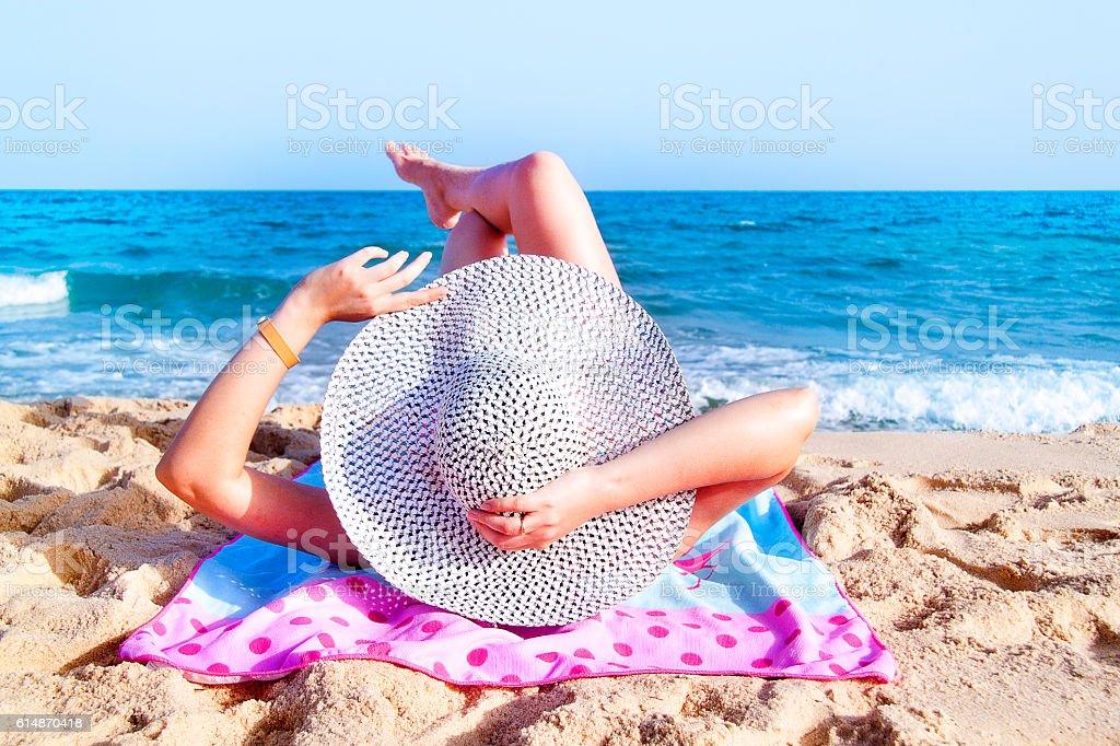 Zrelaksować się na plaży – zdjęcie