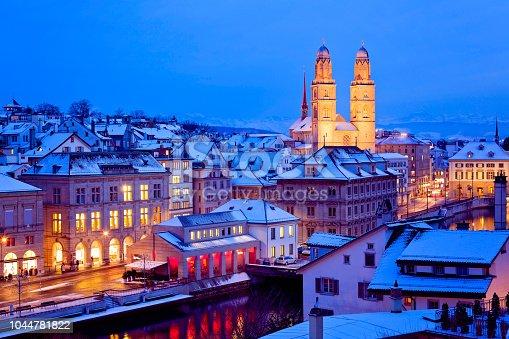 istock Zürich, Schweiz 1044781822