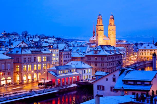 Zürich, Schweiz Zürich im Winter, Schweiz zurich stock pictures, royalty-free photos & images