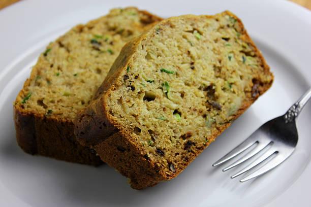 Zucchini Bread stock photo